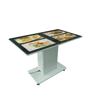 21.5 inch Vier Display LCD Interactieve Touch Screen Smart Restaurant Tafel