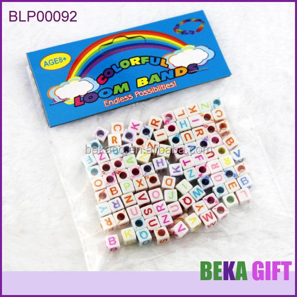 Kids Jewelry Making Kits Large Hole Alphabet Beads For Bracelet ...