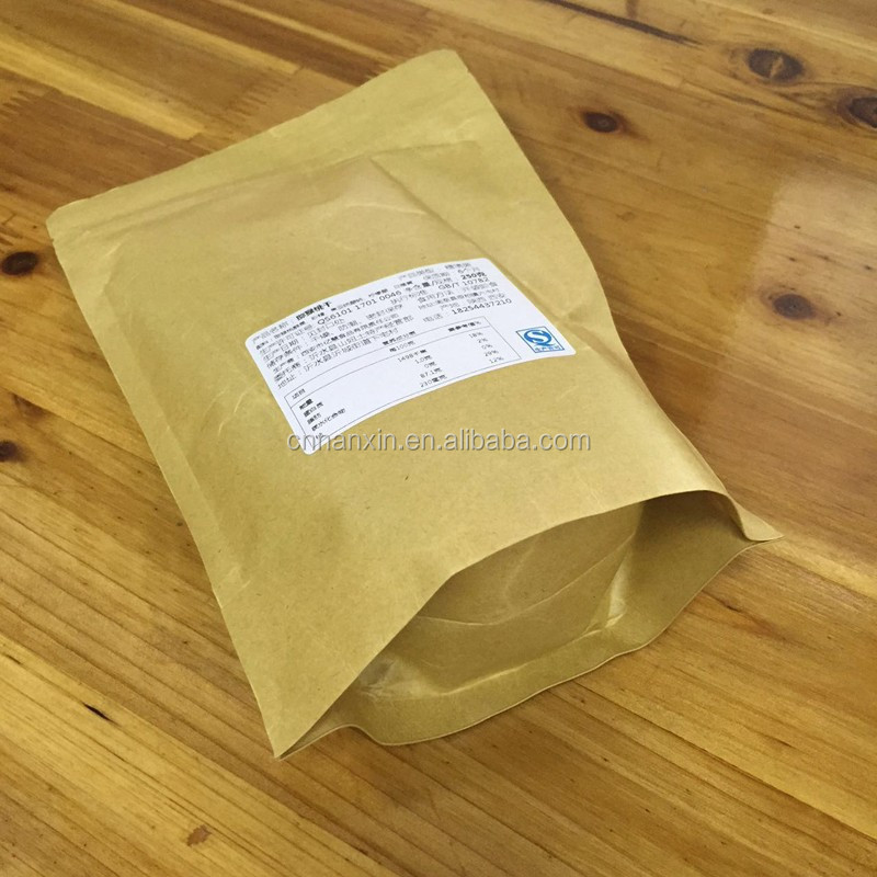 stand up kraft paper bag with window for different needs