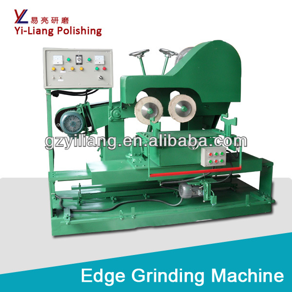 double head grinding machine for cultery /spoon/knife surface/arc polishing.