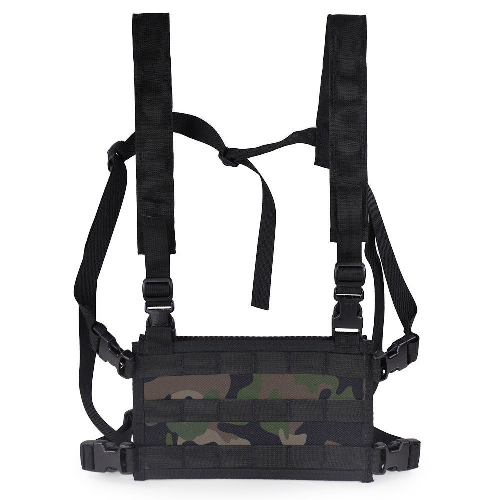 Adjustable Shoulder Straps Chest Bag Tactical Vest Bag Chest Rig