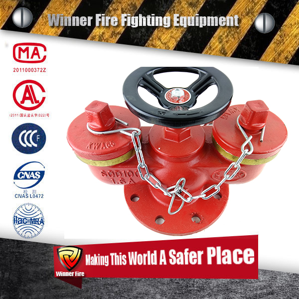 Multi-functional type Fire Fighting Pump Adaptor for firefighting man with fire safety valve