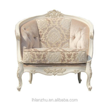 Classical Style Wooden Hand-carved Sofa One Seat Lz1270-1-w3