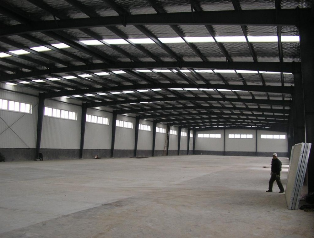 well design small light prefab workshop/warehouse