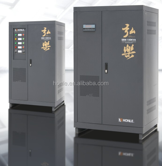 HONLE SVC single phase ac automatic automatic 150kva avr automatic voltage regulator