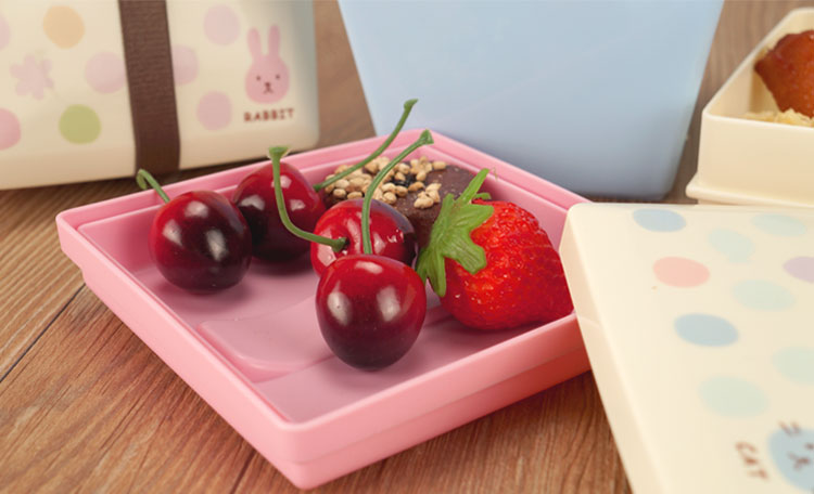 wholesale square plastic bento lunch box container for. Black Bedroom Furniture Sets. Home Design Ideas