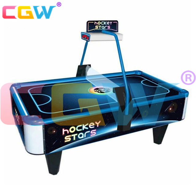 CGW Factory Price Euro Coin Operated Air Hockey Table Redemption Game Machines For Kids