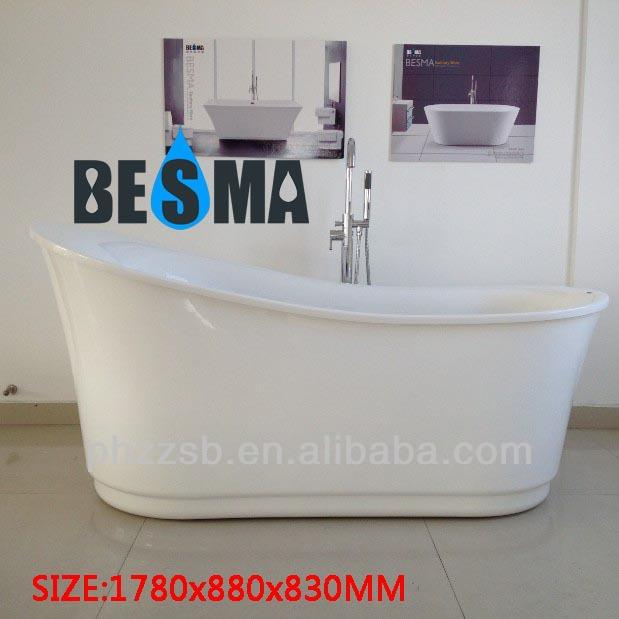 Formato personalizzato besma portatile freestanding vasca di plastica per adulti; economici ...