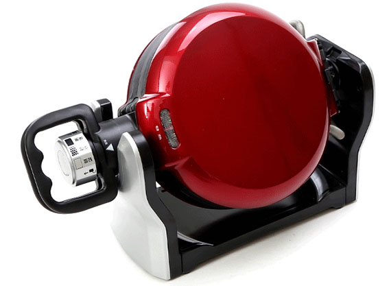 Double Layer Rotary Waffle Maker for Sale