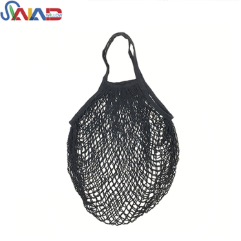 Best selling Globally popular grocery black mesh reusable produce bags for shopping