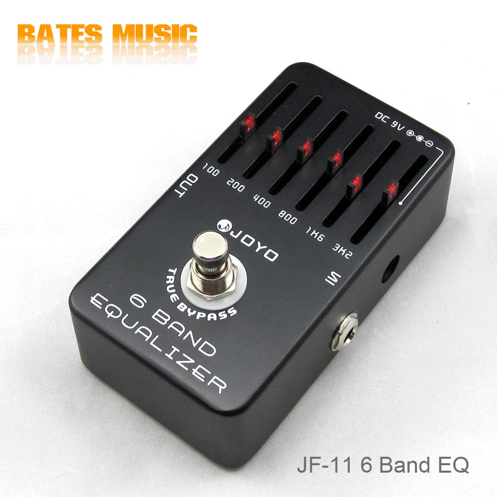 joyo jf 11 guitar effect pedal equalizer with 6 bands eq electric bass dynamic compression. Black Bedroom Furniture Sets. Home Design Ideas