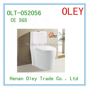 Ceramics washdown one piece toilet / S-trap 100MM roughing in watet closet