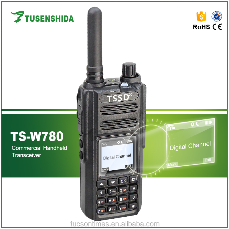 TS W780 gps ham radio public network wcdma wifi two way radio