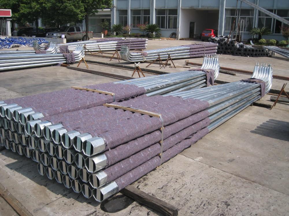 Hs Code Hot Dip Galvanized Street Light Steel Column - Buy Street Light  Column,Steel Column,Hs Code Hot Dip Galvanized Column Product on Alibaba com