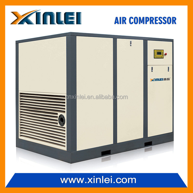 XLD120A 10bar 8bar 120hp rotary auto screw air compressor for sales