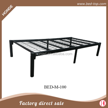 Cheap Super Single Size Metal Bed Frame Without Headboard Y Buy