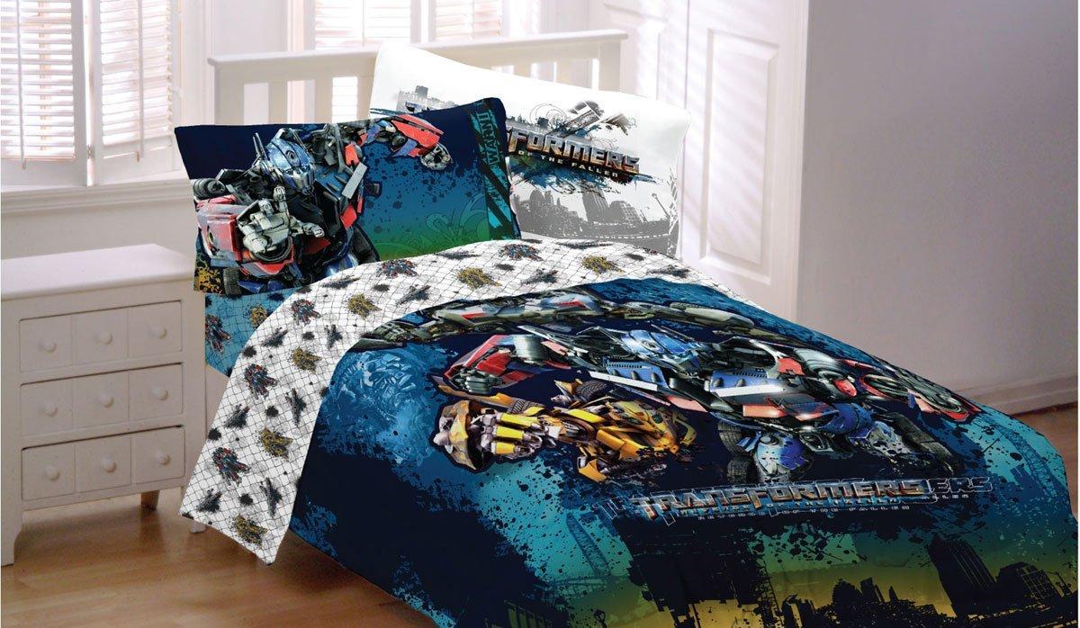Transformers Motorized Twin-Full Comforter