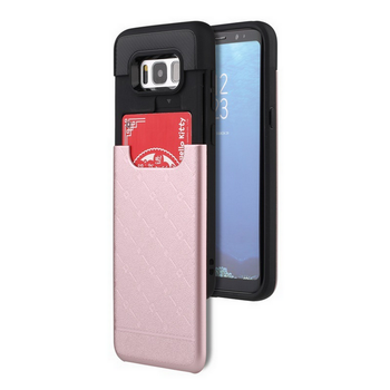 promo code 3701e d62ac 2 In 1 Pc Tpu Hybrid Cell Phone Credit Card Holder Case Sliding For Samsung  Galaxy S8 Smart Phone Case - Buy Slide Mobile Phone Case,Cell Phone Case ...
