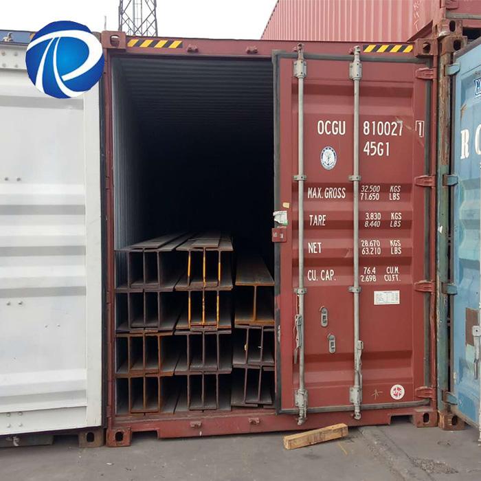 Hot Rolled Wide Flange Steel H Piles Professional Supplier Steel H I Beam