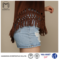 Wholesale Women Summer Fashion Crochet Suede Tops Clothing Uk