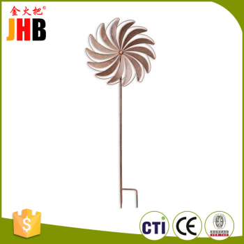 China Supplier Wholesale Metal Wind Spinners Garden Stake Online ...