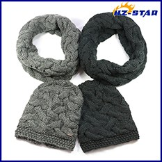 Wholesale Scarf Factory China Manufacturers Winter Knitted Scarf ...
