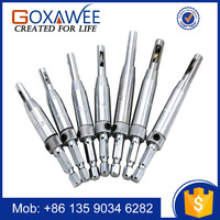 Goxawee Professional Door Window Cabinet Hinge Self Centering HSS Drill Bits for Wood Hole Saw Repair