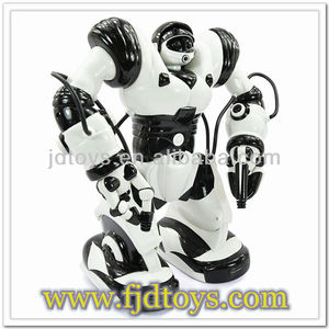 2013 hot selling big scale mutifunctional Remote Control Robot with Light & Sound