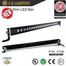24v led driving light bar for 4x4 suv atv 4wd truck 240w car led light bar