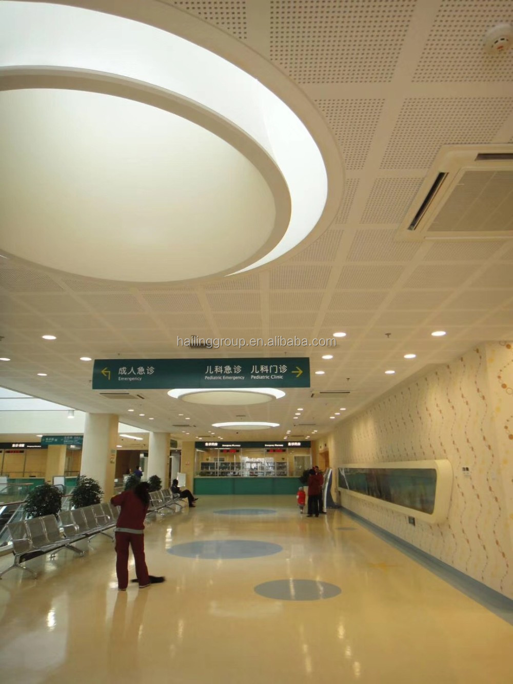 1200 2400 12mm Sound Absorbing Perforated Plaster Board