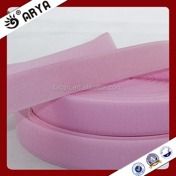 hangzhou taojin textile polyester sewing thread hook and loop for clothers decoration