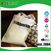 eco friendly natural color canvas shopping bag