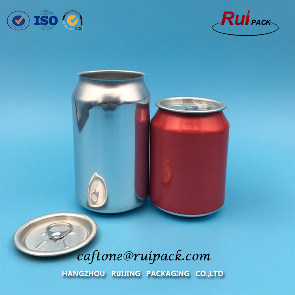 250ml,330ml,500ml empty aluminum beer and beverage ring-pull can