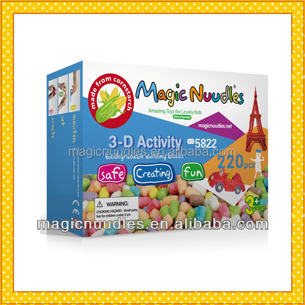 2017 Hot Toys For Kids Magic Nuudles 5821 Gift and Craft with ASTM F963-11,EN71,BPI,94 62 EC