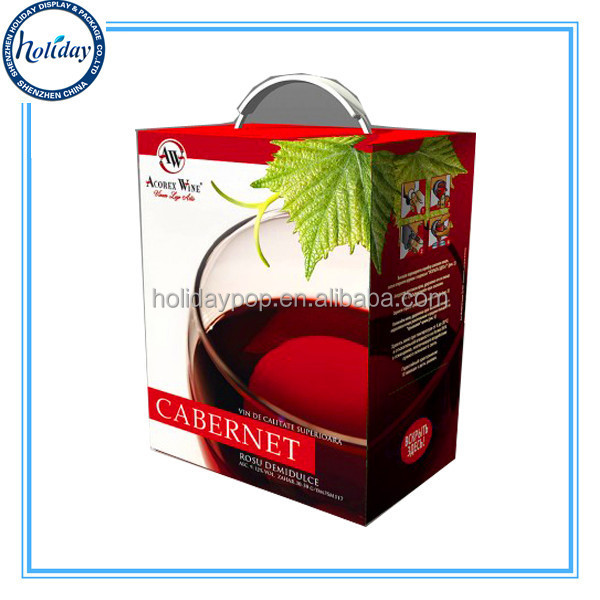 Durable Wine Glass Cardboard Gift Boxes Wholesale