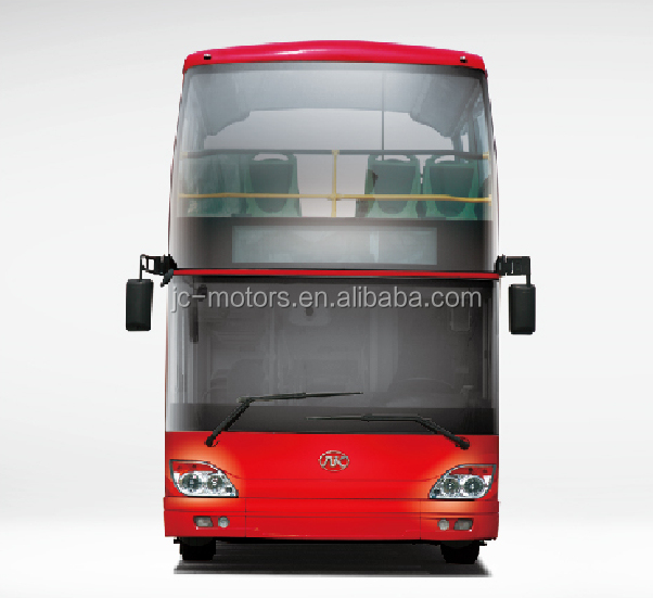 Factory supply JAC half open double decker bus for sale