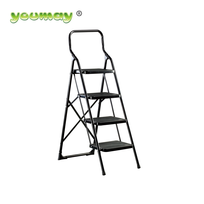 Steel Folding step Ladder SF0304A/chair/steel ladder stabilizer outdoor stair steps lowes