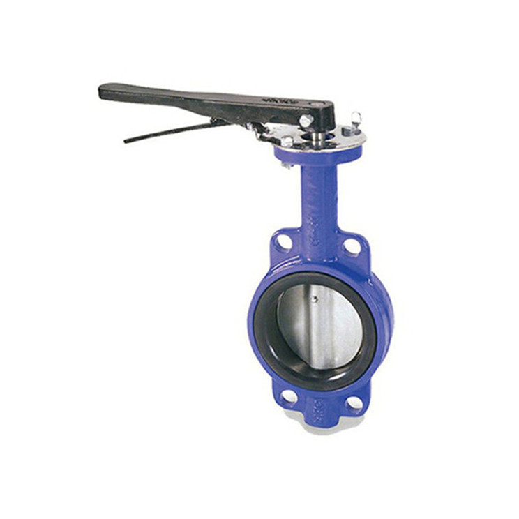 LIWEI brand wafer type api609 actuaor optional butterfly valve in tianjin china