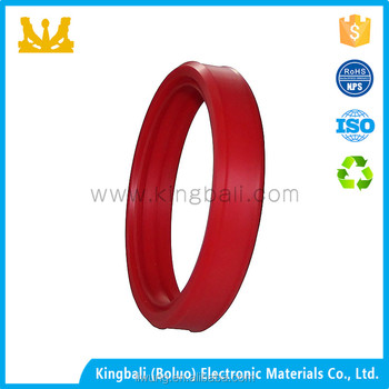 Soft White Clear Transparent Silicone Gasket/washer/silicone Rubber ...
