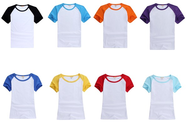 2016 New 200g Combed Cotton Custom Design Plain T-shirt