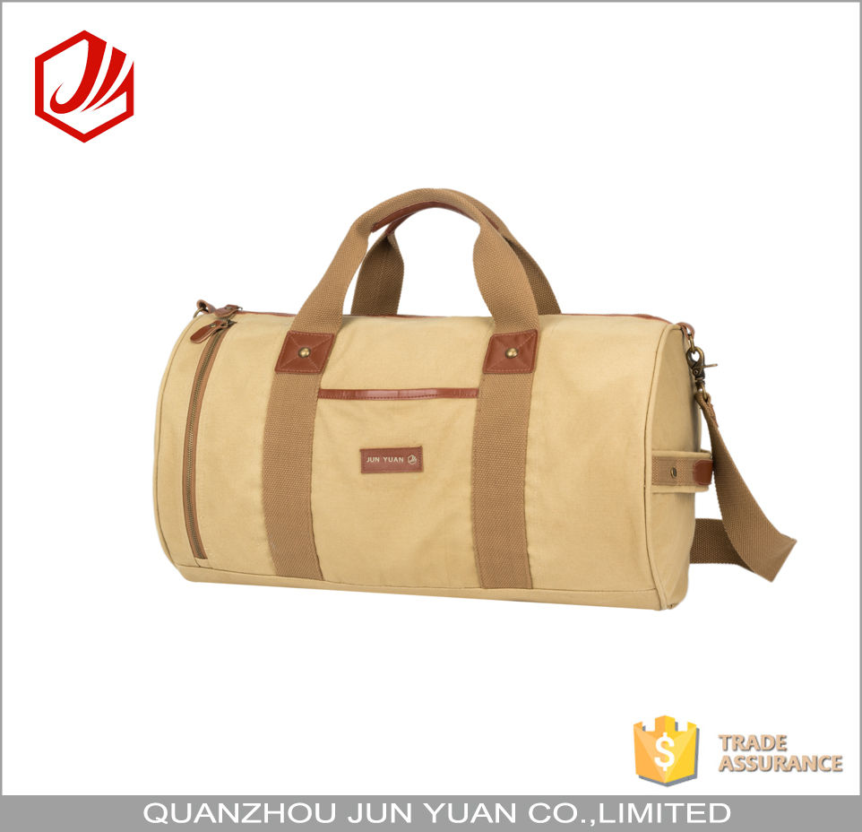 Custom OEM outdoor canvas army duffel bag for men
