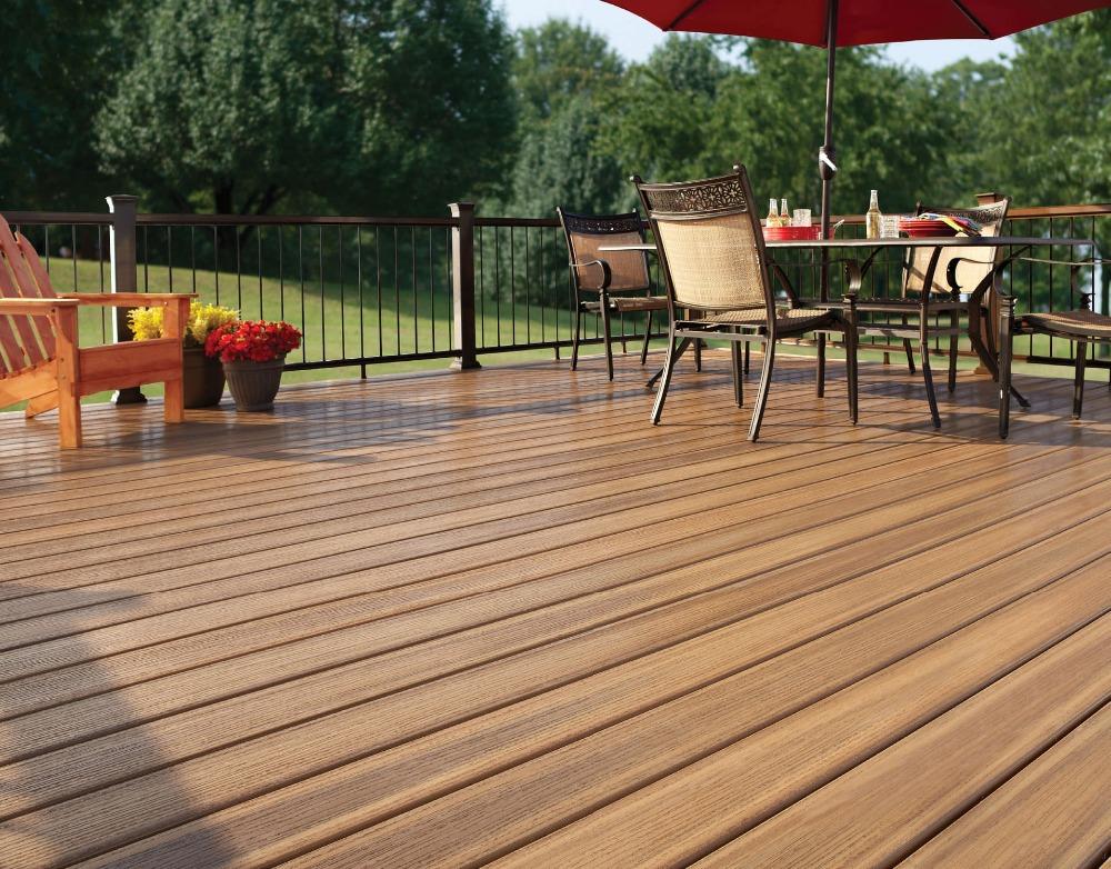Wpc slat losse lag vinyl plank vloeren laminaatvloer for Modern view decking