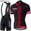 PHTXOLUE Cycling Clothing Bicycle Wear Breathable Bike Clothing Cycling Sets Short Sleeve Cycling Jerseys sets