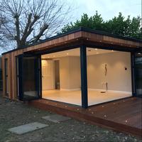 Movable prefab cabin container house