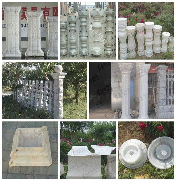 Hot Selling Popular Plastic Concrete Column Moulds