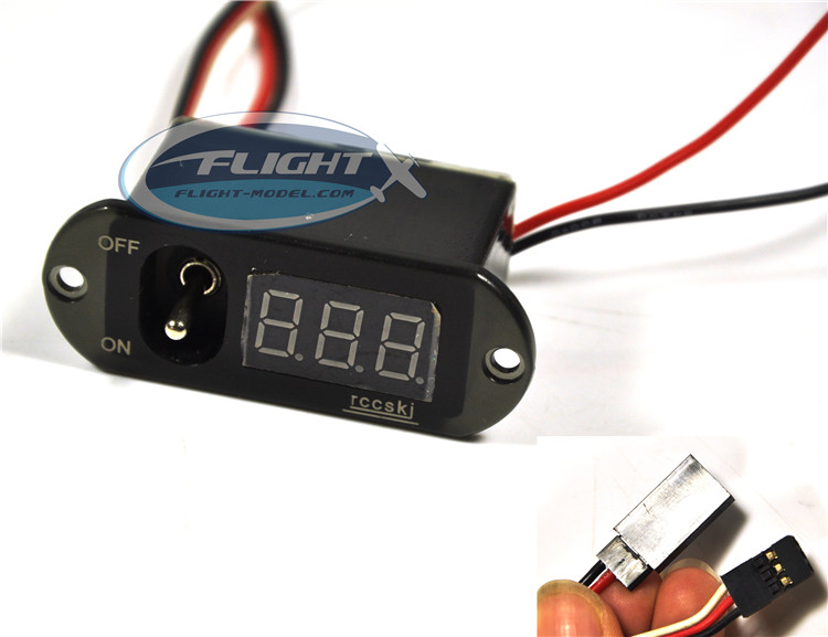 Flight 3 in 1 Large RC Digital Switch Methanol FUTABA / JR Compatible Methanol Nitro Ignition