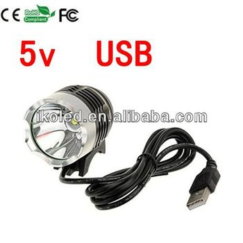 Cree Xml T6 Usb 5v 1200lm Led Waterproof Headlamps Headlight
