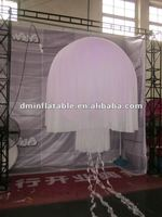 2012 New Brand LED light Party Decoration/Club Supplies/LED light decoration inflatable jellyfish ball