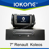 "factory 7"" HD Touch screen newest renault koleos dvd player with TMC, camera, mic, dvb-t"