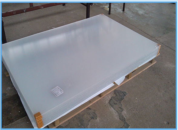 4mm Outdoor Plexiglass Frosted Acrylic Sheet Clear